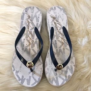 Michael Kors Wedge Flipflops